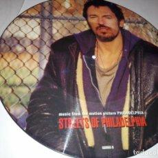 CDs de Música: LP-MÚSICA-STREETS OF PHILADELPHIA-BANDA SONORA PELÍCULA-BRUCE SPRINGSTEEN-45 RPM. Lote 153960994
