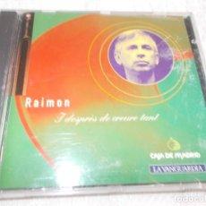 CDs de Música: RAIMON I DESPRÉS DE CREURE TANT. Lote 153973442