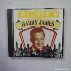 CDs de Música: GIANTS OF THE BIG BAND ERA: HARRY JAMES - CD 1993 . Lote 153974306