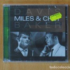 CDs de Música: MILES DAVIS & CHET BAKER - MILES DAVIS & CHET BAKER - CD. Lote 153985182