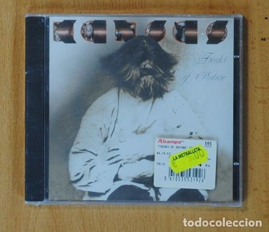 KANSAS - FREAKS OF NATURE - CD (Música - CD's Rock)