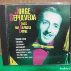 CDs de Música: JORGE SEPULVEDA - TODOS SUS GRANDES EXITOS - CD ALBUM NUEVO¡¡ PEPETO. Lote 154037786