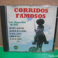 CDs de Música: CORRIDOS FAMOSOS CD ALBUM DOBLON VARIOS . Lote 154038578