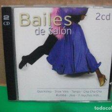 CDs de Música: BAILES DE SALON DOBLE CD ALBUM 2006 VARIOS PEPETO. Lote 154039022