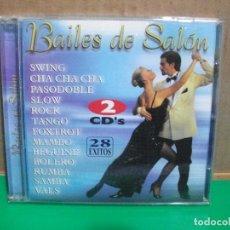 CDs de Música: BAILES DE SALON DOBLE CD ALBUM 28 EXITOS PEPETO. Lote 154039194