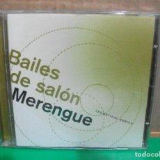 CDs de Música: BAILES DE SALON MERENGUE THEMATICAL SERIES CD ALBUM PEPETO. Lote 154039514