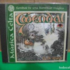 CDs de Música: MÚSICA CELTA CD GWENDAL GLEN RIVER 1990 PDI. Lote 154040386