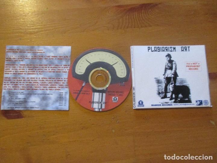 CDs de Música: PLAGIARISM IS ART X 2 WANKER DEMO MAQUETA 18 CANCIONES 2001 INDUSTRIAL TIPO ESPLENDOR GEOMÉTRICO - Foto 2 - 154040994