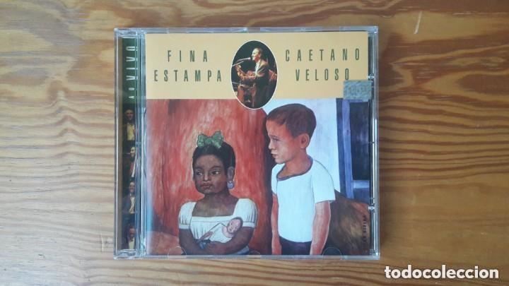 CAETANO VELOSO - FINA ESTAMPA AO VIVO. CD. BRASIL. BOSSA NOVA (Música - CD's World Music)