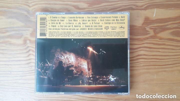 CDs de Música: CAETANO VELOSO - FINA ESTAMPA AO VIVO. CD. BRASIL. BOSSA NOVA - Foto 3 - 154041666
