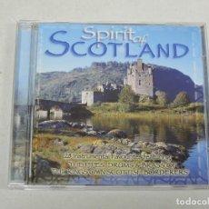 CDs de Música: SPIRIT OF SCOTLAND CD. Lote 154106978