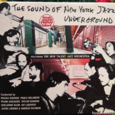 CDs de Música: THE SOUND OF NEW YORK JAZZ UNDERGROUND. Lote 154114297
