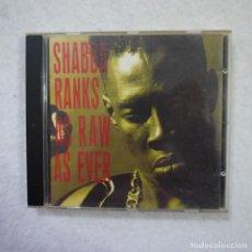 CDs de Música: SHABBA RANKS - AS RAW AS EVER - CD 1991 . Lote 154158982