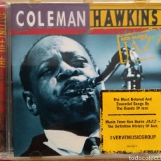 CDs de Música: COLEMAN HAWKINS THE DEFINITIVE. Lote 154165029