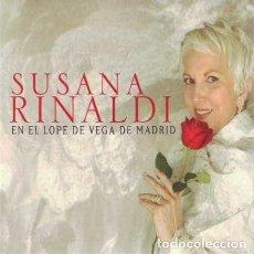 CDs de Música: SUSANA RINALDI - EN EL LOPE DE VEGA DE MADRID. CD DIGIPACK. ARGENTINA. TANGO. RARO!. Lote 154166346