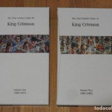 CDs de Música: KING CRIMSON:THE 21ST CENTURY GUIDE TO KING CRIMSON VOLUME ONE (1969-1974) VOLUME TWO (1981-2003). Lote 154184606
