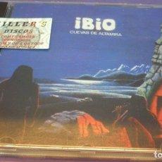 CDs de Música: IBIO - CUEVAS DE ALTAMIRA - CD REEDITADO POR EL SELLO ANTICUARIO DEL DISCO BAJO LICENCIA FONOMUSIC.. Lote 180314217