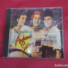 CDs de Música: THE BEST OF ANDREWS SISTERS. CD. RUM AND COCA COLA. SAY SI SI..... Lote 154212934