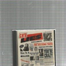 CDs de Música: GUNS ROSES LIES. Lote 154236562