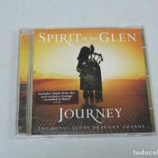 CDs de Música: SPIRIT OF THE GLEN JOURNEY CD. Lote 154246302