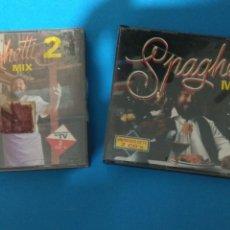 CDs de Música: SPAGUETTI MIX 1 + SPAGUETTI MIX 2 CAJAS DOBLES. PARA COLECCIONISTAS. ITALO DANCE. Lote 154317917