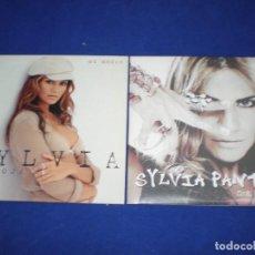 CDs de Música: LOTE 2 CD SINGLE PROMO SILVIA PANTOJA / QUE POCO ARTE / MI MADRE - CARTON. Lote 154321094