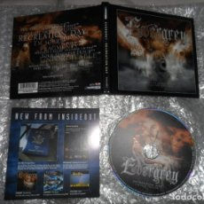 CDs de Música: EVERGREY - RECREATION DAY ( DIGIPACK , BONUS TRACK ) LIMITED EDITION CD. Lote 154323534