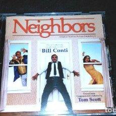CDs de Música: BSO NEIGHBORS ORIGINAL SCORES BILL CONTI & TOM SCOTT - VARESE CLUB CD. Lote 154382886