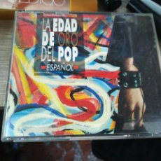 CDs de Música: LA EDAD DE ORO DEL POP ESPAÑOL DOBLE CD 1992. Lote 154387966