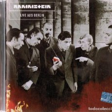 CDs de Música: RAMMSTEIN LIVE OUS BERLIN (CD). Lote 154415826