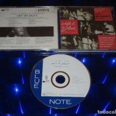 CDs de Música: ART BLAKEY A NIGHT AT BIRDLAND ( VOLUME TWO ) - CD - 7243 5 32147 2 2 - BLUE NOTE RECORDS. Lote 154417698