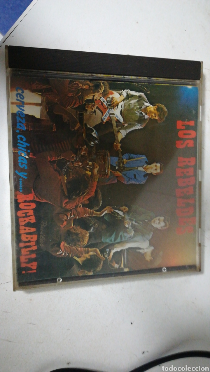 CD LOS REBELDES. CERVEZAS, CHICAS Y ROCKABILLY (Música - CD's Rock)