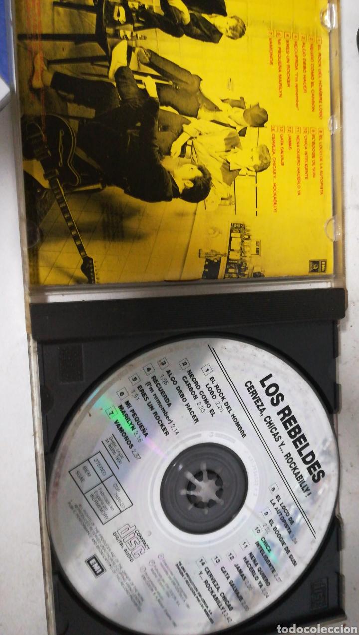 CDs de Música: CD los rebeldes. Cervezas, chicas y rockabilly - Foto 3 - 154417873