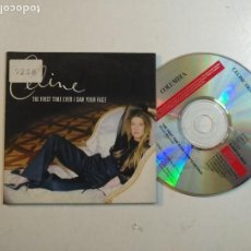 CDs de Música: CD SINGLE CELINE DION - RARO - THE FIRST TIME EVER I SAW YOUR FACE COLUMBIA 2000. Lote 159712452