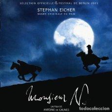 CDs de Música: MONSIEUR N. / STEPHAN EICHER CD BSO. Lote 154452878
