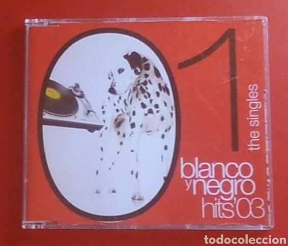 CD MÚSICA BLANCO Y NEGRO HITS 03 1 THE SINGLES (Música - CD's Disco y Dance)