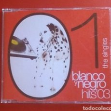 CDs de Música: CD MÚSICA BLANCO Y NEGRO HITS 03 1 THE SINGLES. Lote 154455200