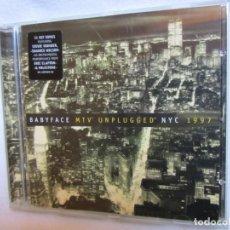 CDs de Música: BABYFACE MTV UNPLUGGED NYC 1997-CON S. WONDER.E.CLAPTON,S.WONDER.ETC.11TEMAS-DEL 97-NUEVO. Lote 154467526
