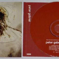 CDs de Música: PETER GABRIEL: PASSION - MUSIC FOR THE LAST TEMPTATION OF CHRIST (REMASTERED). Lote 154468798