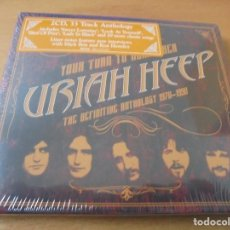 CDs de Música: RAR 2 CD'S. URIAH HEEP. THE DEFINITIVE ANTHOLOGY. 1970-1990. STICKER. SEALED. Lote 154488018