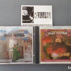 CDs de Música: LOTE DE 2 CD'S DE OLGA RAMOS. Lote 154505074
