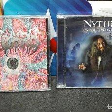 CDs de Música: NYTHRO CD INVISIBLE PARA LOS DEMAS Y EP YO TE MALDIGO, NUEVOS PRECINTADOS HEAVY NACIONAL DIFICIL. Lote 154505866