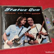 CDs de Música: STATUS QUO ROCK 'TIL YOU DROP CD 1991. Lote 154506334