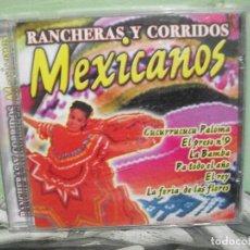 CDs de Música: RANCHERAS Y CORRIDOS MEXICANOS VARIOS CD ALBUM. Lote 154550422