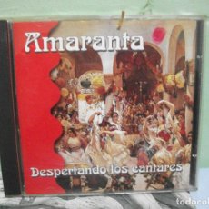 CDs de Música: AMARANTA DESPERTANDO LOS CANTARES CD ALBUM PEPETO. Lote 154556506