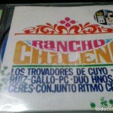 CDs de Música: RANCHO CHILENO CD - TROVADORES DE CUYO , TRIO RUIZ GALLO.... Lote 154559038
