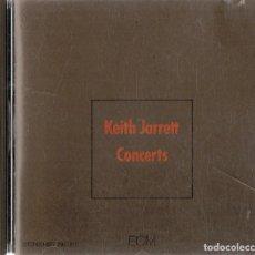 CDs de Música: KEITH JARRETT CONCERTS . Lote 154646898
