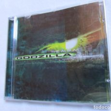 CDs de Música: THE ALBUM GODZILLA- CD- B.S.O. VARIADO DE ARTISTAS INTERNACIONALES- 15 TEMAS- ORIGINAL DEL 98- NUEVO. Lote 154650698