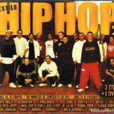 CDs de Música: ESTILO HIP HOP 2 ( 3 CD + 1 DVD). Lote 154654802