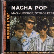 CDs de Música: NACHA POP ¨MÁS NÚMEROS,OTRAS LETRAS¨ (CD). Lote 154654970